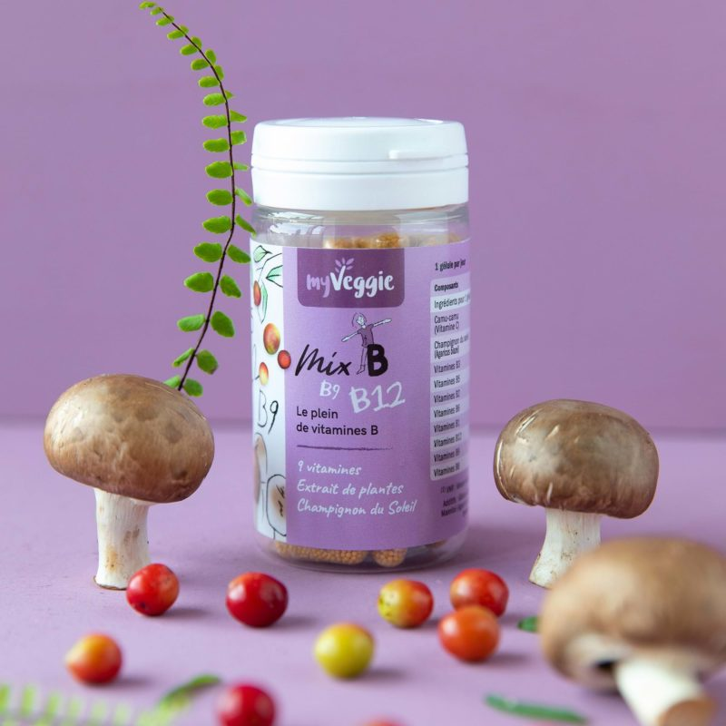 myveggie complément alimentaire mix vitamine B