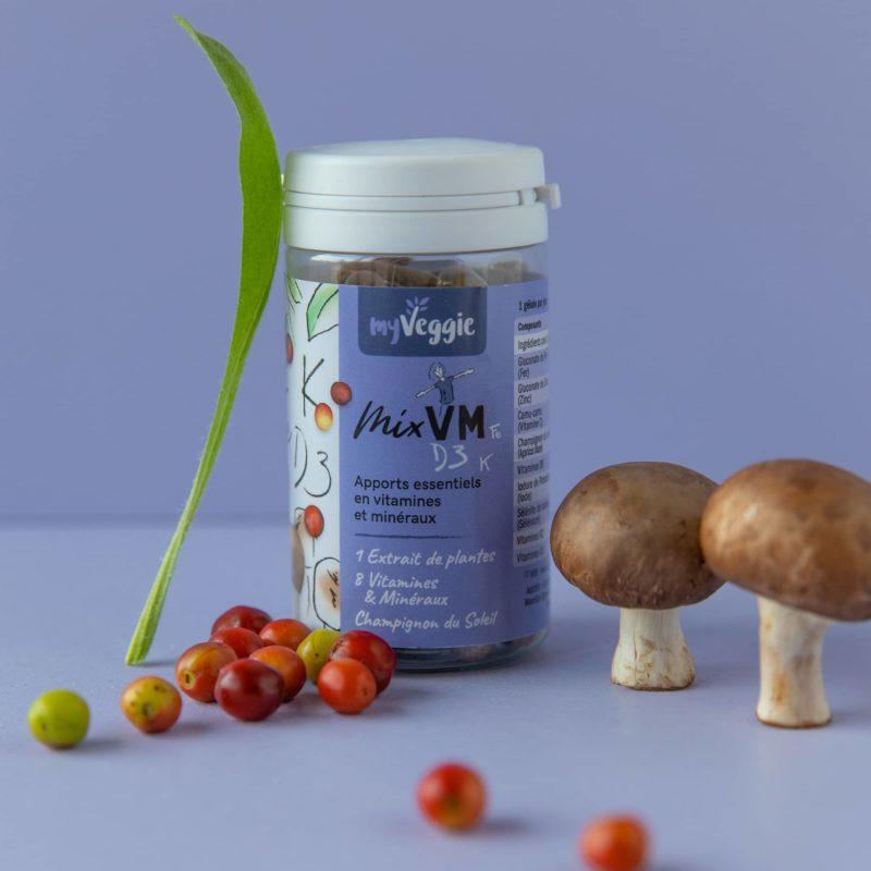 myveggie complément alimentaire vitamine et minéraux