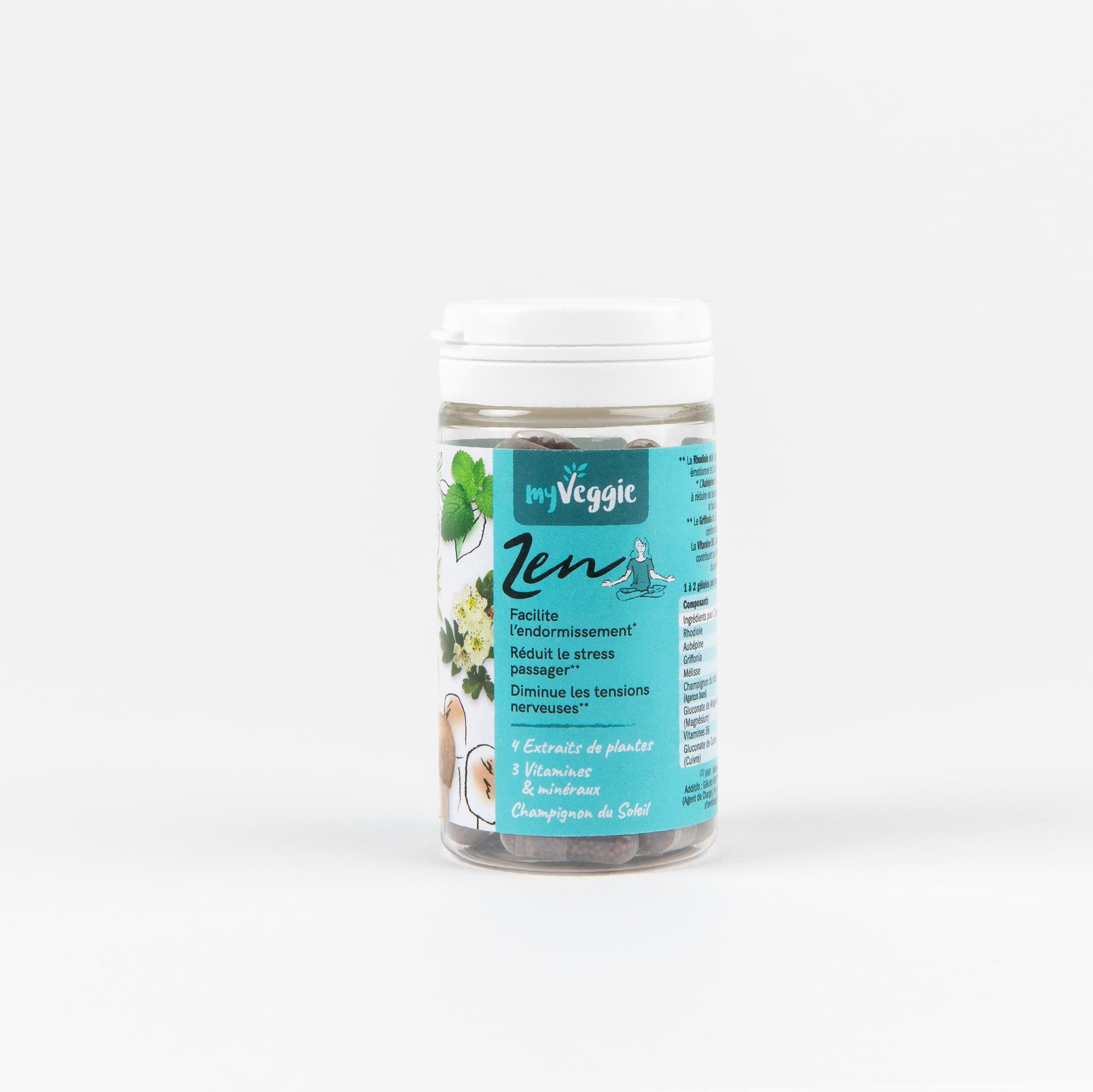 myveggie complément alimentaire zen