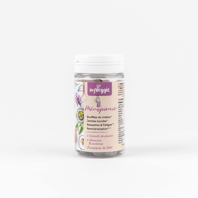 myveggie complément alimentaire ménopause